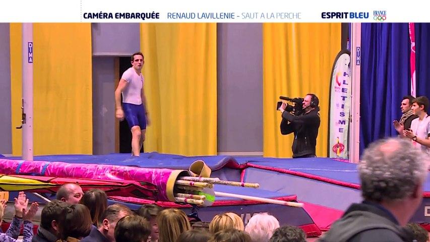 Caméra embarquée - Renaud Lavillenie