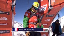 FWT15 - Run of Aurelien Routens (FRA) Swatch Freeride World Tour 2015 Fieberbrunn By The North Face restaged in Vallnord-Arcalis AND