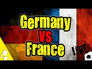 GERMANY VS FRANCE | WATCH THE GAME WITH ME | LIVE HANGOUT
