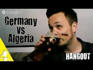 Germany vs Algeria | Watch The Game With Me Online | Live Hangout