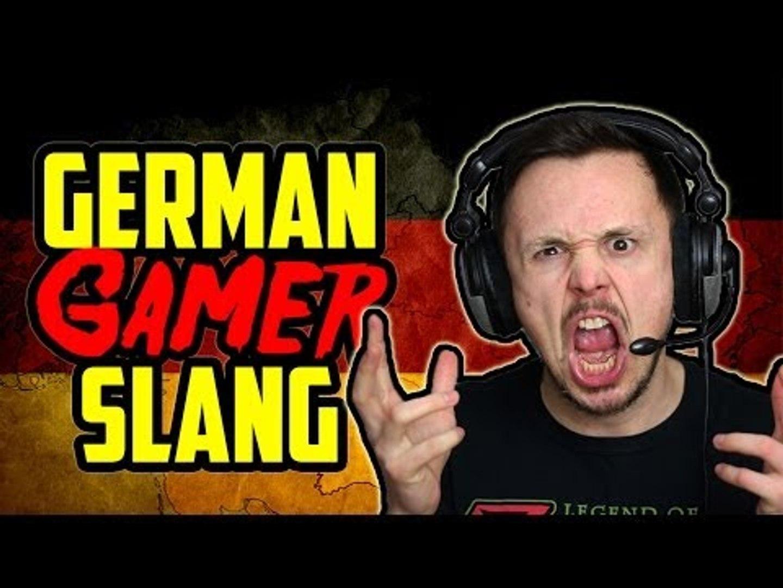 Learn German   Gamer Slang (NSFW)