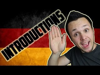 Learn German Introductions
