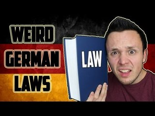 Weird German Laws - (April Fools' Day Video)