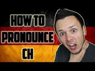 "German ""CH"" Pronunciation"