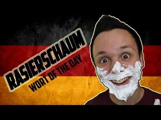 Rasierschaum - German Word of the Day