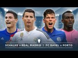 UCL PREVIEW: SCHALKE v REAL MADRID, FC BASEL v PORTO |  #FDW UEFA Champions League Preview
