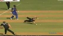 Best Denied Catch Ever by Nathan McCullum - ICC T20 World Cup- NZ v Sri Lanka
