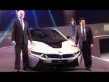 Sachin Tendulkar Launches BMW I8 In India !
