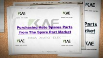 Purchasing Auto Spares Parts from The Spare Part Market