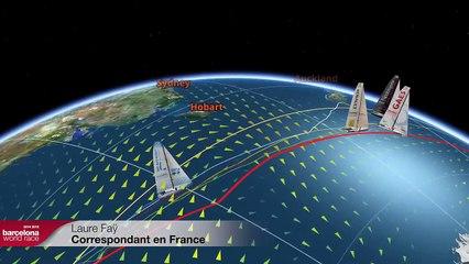 (Français) – le direct du jour 48 – Barcelona World Race