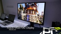 ASUS MG279Q 27-in 2560x1440 IPS 120 Hz Variable Refresh Monitor - CES 2015