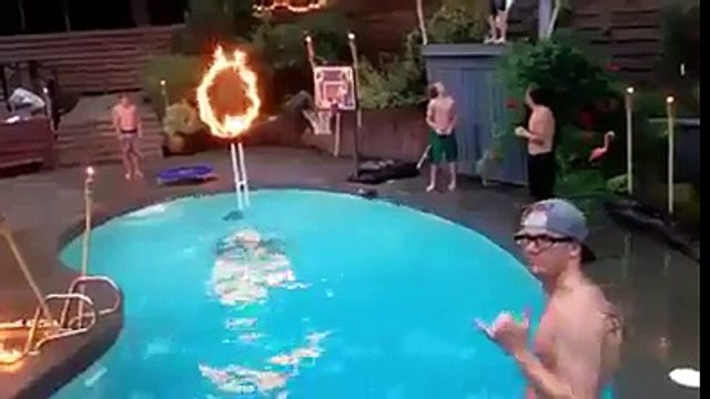 Best pool dunk ever!Best pool dunk ever!