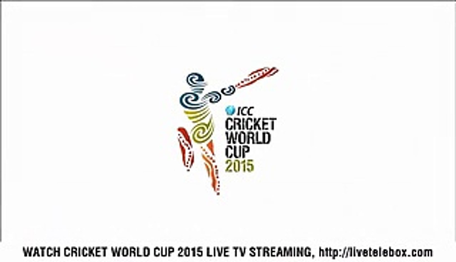 Australia vs England Live - ICC Cricket World Cup 2015 - Video Dailymotion