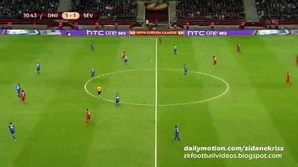 1-2 Carlos Bacca Goal – Dnipro vs Sevilla