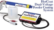 Powder Coating Made Easy - Dual Voltage Powder Coating Gun from Eastwood