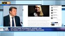 """Estrosi: Marion Maréchal-Le Pen est """"une candidate dangereuse"""""""