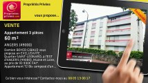 A vendre - appartement - ANGERS (49000) - 3 pièces - 60m²