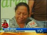 Hallan muerta a la niña que desapareció en Santa Elena