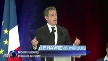 UMP: Sarkozy accuse Hollande d'envoyer ses amis faire un procès