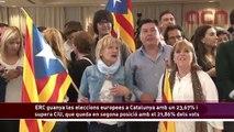 Resultats de les eleccions europees 2014 a Catalunya: ERC primera força, seguida per CiU i el PSC
