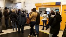 Bagarre dans le métro (Paris - Gambetta - 25 janvier 2014)