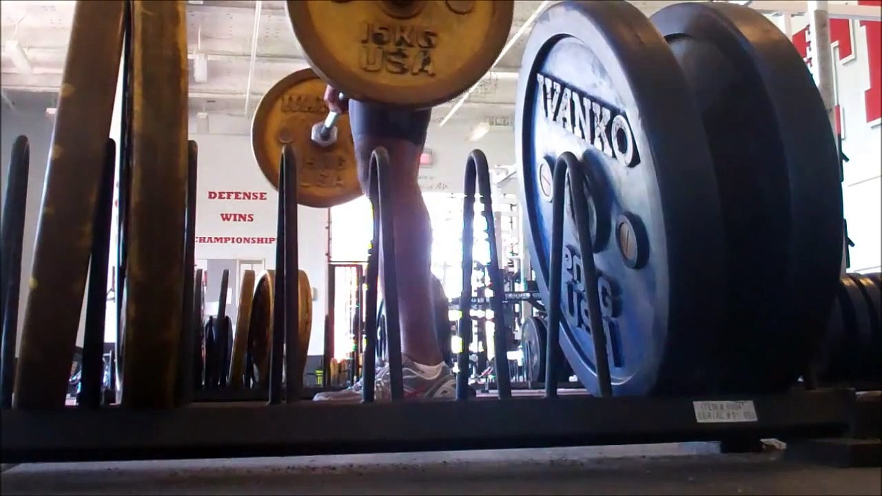 Track and Field Weight Training