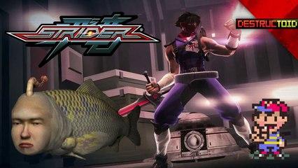 Seaman RETURNS! Capcom Announces NEW STRIDER, Earthbound ON WII U, & More!