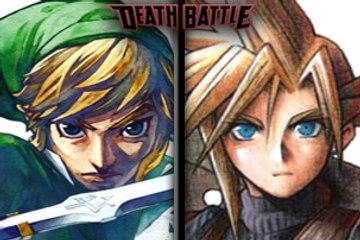 DEATH BATTLE - Link vs. Cloud