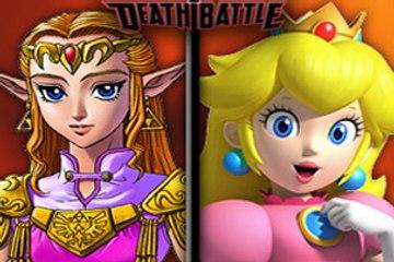 Zelda Versus Peach: Battle to the Death!