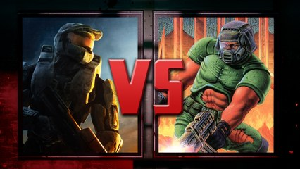 Master Chief VS Doomguy