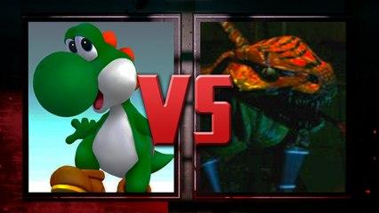 Yoshi VS Riptor (Killer Instinct)