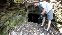Prospecting a Cave / Tunnel at the Alabama Gold Camp