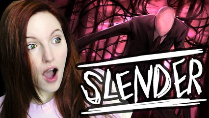 Let's Play Slender - On Camera Reactions