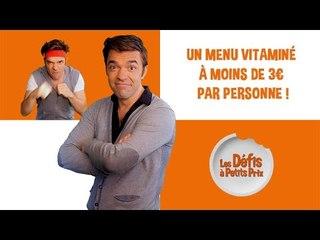 Menu vitaminé à 3 € par personne - Défis à Petits Prix