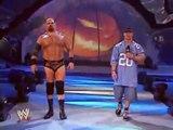 WWE SmackDown: October 30, 2003 - John Cena promo (calls A-Train/Albert/Tensai/Sweet T a wookie!)