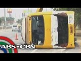 40 injured from bus accident at SLEX