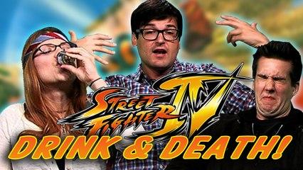Super Street Fighter IV Drink and Death CHALLENGE!