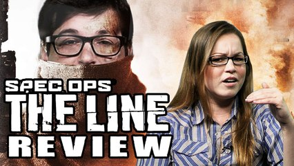 Spec Ops: The Line REVIEW with Jackie Talbott!