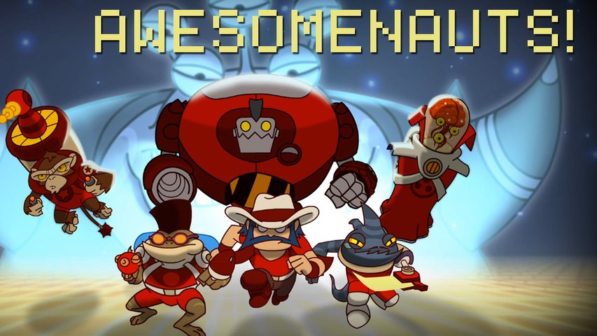 AWESOMENAUTS with Max Scoville and Jackie Talbott