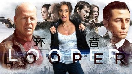 Looper & Hotel Transylvania Movie Review