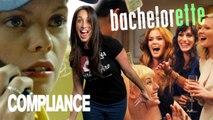 Bachelorette & Compliance Movie Review