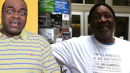 SXSW: Homeless People as 4G HOTSPOTS?!