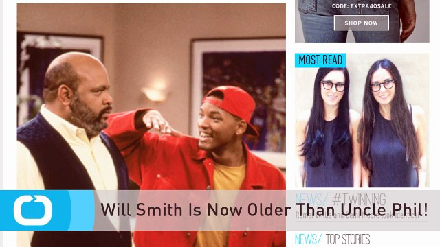 Will Smith Is Now Older Than Uncle Phil!