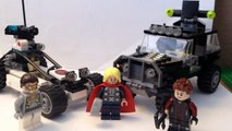 Lego Avengers Age of Ultron Avengers Hydra Showdown review