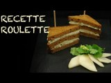 Recette : Club Sandwich poire, roquefort !
