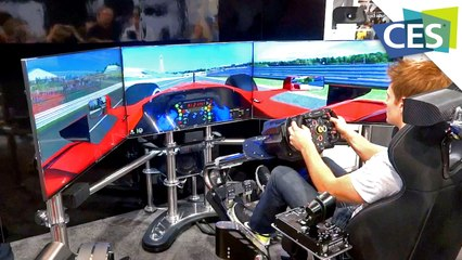 $50,000 Racing Simulator: Thrustmaster T500RS (CES 2013)