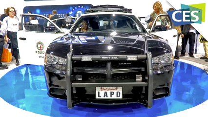 Futuristic Police Car -- Loaded With Tech (CES 2013)