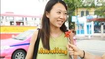 Answer To Thailand : Foreigner in Thailand, Thai food at Bangkok สัมภาษณ์ชาวต่างชาติ