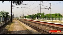 """IRFCA - King Of Eastern Railways """"Howrah Rajdhani Express"""" In a Hurry To Rech It's Destination NDLS."""