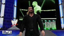 WWE 2K15 RAW _ Sting & John Cena & Randy Orton vs Triple H & Seth Rollins & Rusev -2015 (PS4)